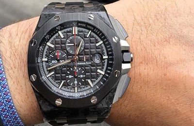 44mm Royal Oak Offshore Forged Carbon