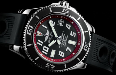 42mm Breitling Superocean Abyss Red